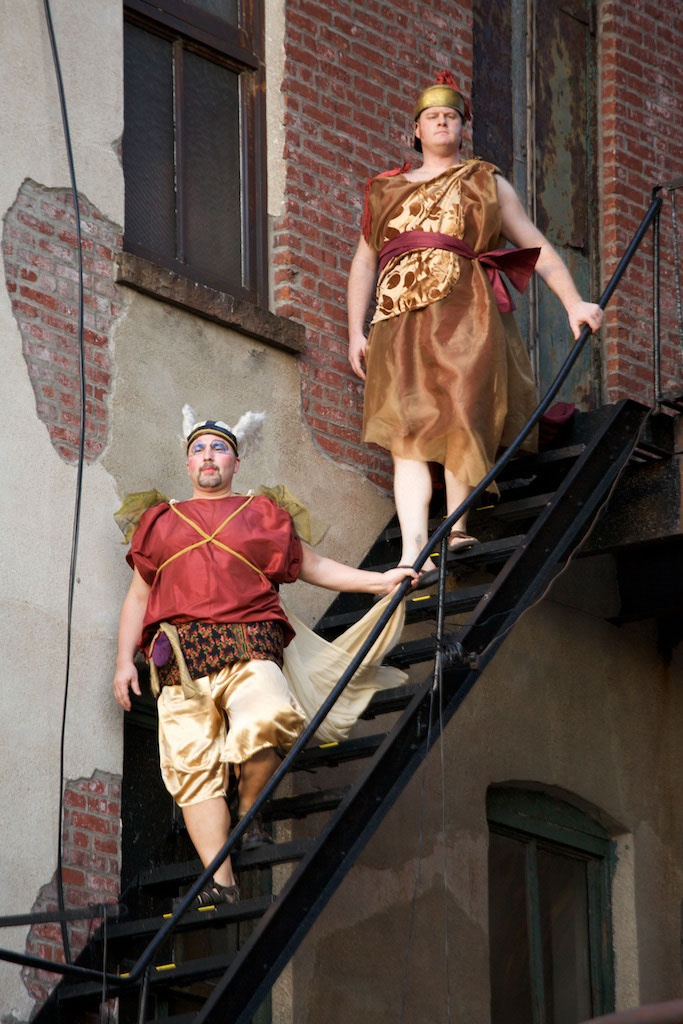 Vertical Player Repertory's La Calisto: Aram_Tchobanian as Mercurio Matthew_Curran as Giove
