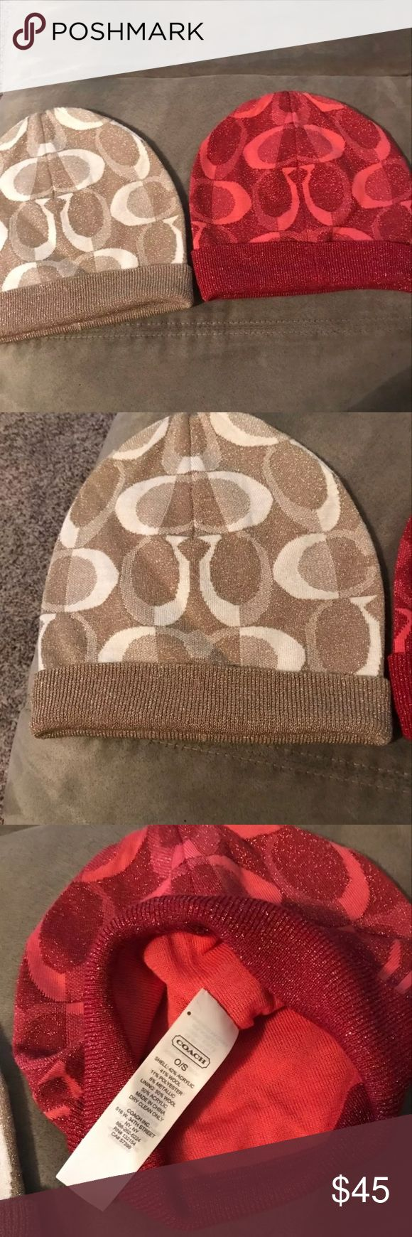 Coach hats set One size no flaws Coach Accessories Hats