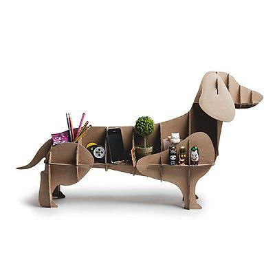 El Perro de Cartón Dachshund será tu mejor amigo