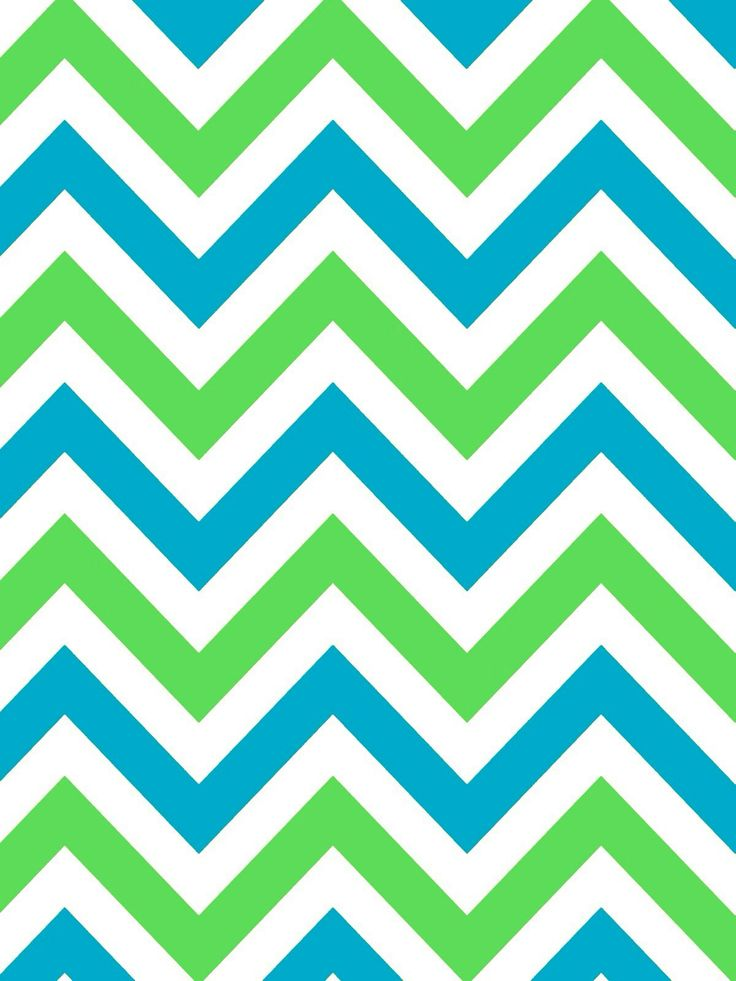 Blue And Green Chevron Iphone Wallpapers 4 4s