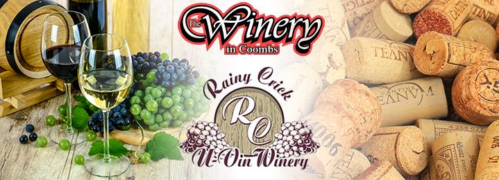 Save 50% on a $90 Voucher for Wine, Beer or Cider @ Rainy Crick Winery in Nanaimo OR The Winery in Coombs! Enjoy this amazing offer to brew your own Wine, Beer or Cider, at your choice of two fantastic wineries!
