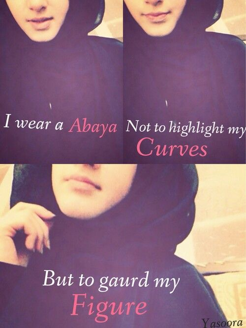 Muslima, I must guard my figure or it will be my fault when a man rapes me! Disgusting.