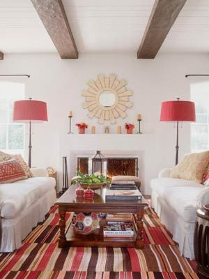 Amazing Choose An Wood Sunburst Mirror To Complement A Natural, Earthy Color  Palette Room Http: Design
