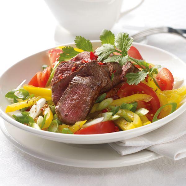 Scharfer Thaisalat mit Rinderfilet Rezepte | Weight Watchers