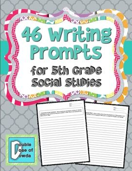 5th grade writing assignments