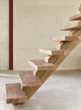 Stairs | Dirk Cousaert - I would love to replace the loft ladder with stairs like these