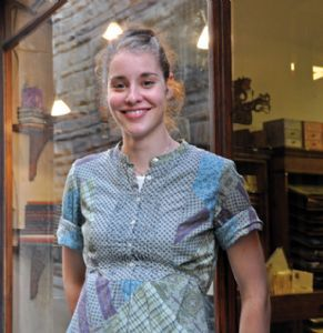 EXPATS IN FLORENCE :: Erin Ciulla Integrating modern ideas into traditional bookbinding