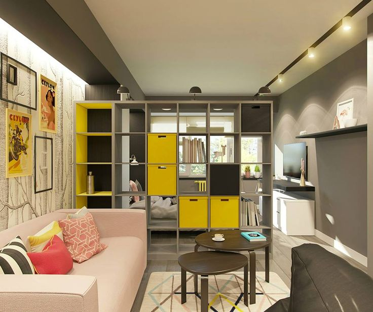 Проект квартиры-студии на Профсоюзной