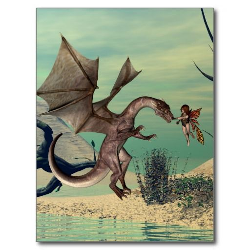 The #dragon #postcards