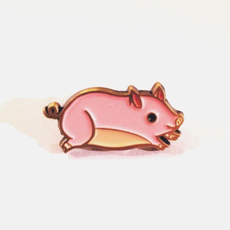 teacup pig pin!