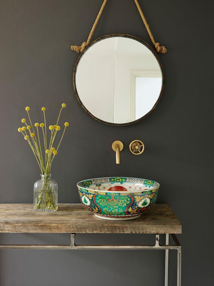 Diese atemberaubenden Waschbecken wurden von der London Basin Company entworfen. Sie haben ein