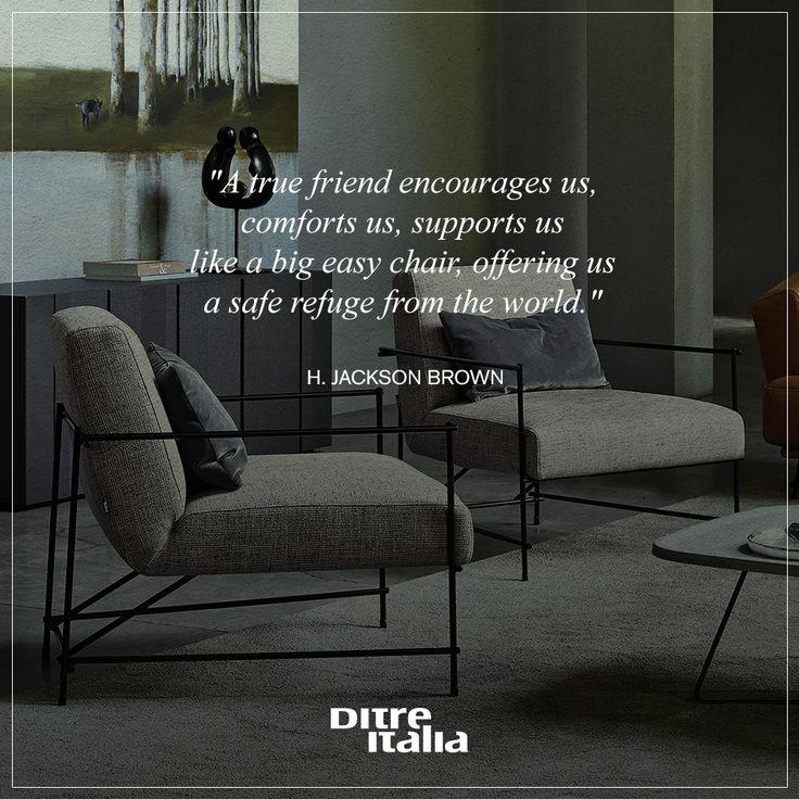 Anche per voi una comoda #poltrona rappresenta un rifugio su cui riposare? Would you like to have a safe place where you can take a rest?