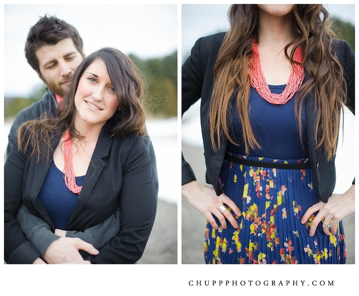 Spring Engagement Photos by Chupp Photography.