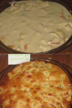 Постный яблочный пирог на минеральной воде рецепт с фото, как приготовить на FindFood.ru