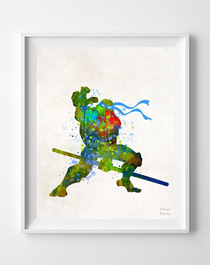 Donatello, Teenage Mutant Ninja Turtle Type 1 Print