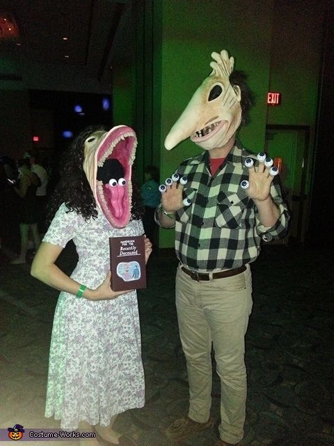 Best Images About Ha Double Lo W Double En On Pinterest - 28 awesome halloween costumes couples