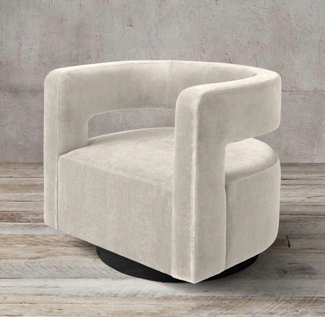 Comfy Living Room Furniture In 2020 Modern Swivel Chair Living