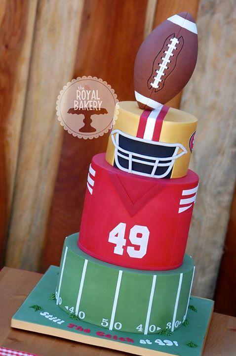 football cake                                                                                                                                                                                 More