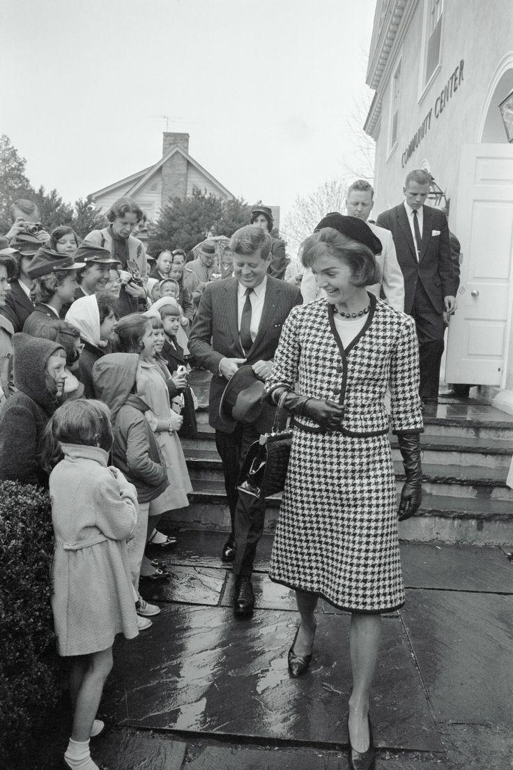 April 9, 1961 Jaqueline Kennedyjohn F