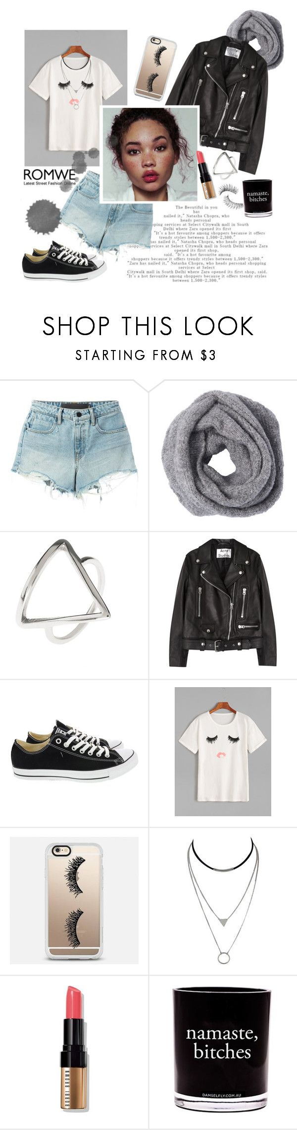 """""""Big Eyelashes + Pink Lipstick"""" by drinkdionysus ❤ liked on Polyvore featuring T By Alexander Wang, Latelita, Acne Studios, Converse, Casetify, Bobbi Brown Cosmetics, Damselfly Candles and Trish McEvoy"""
