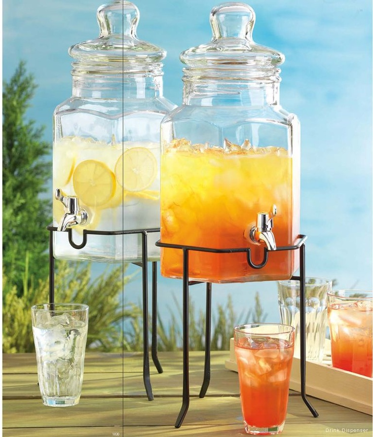 1000 Images About Drink Dispenser Recipes On Pinterest: 30 Best Glass Drink Dispenser Images On Pinterest