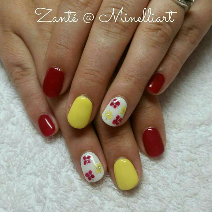 Summer Nail Art by Zante at Minelliart