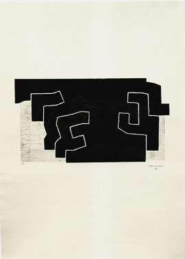 """Eduardo Chillida, """"Egitura"""" (Struktur)"""