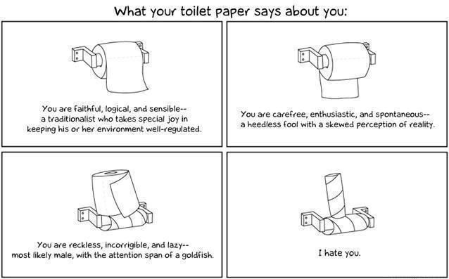 Harharhar....: About You, Paper Rolls, Paper Personalized, Toilets Paper, Funny Stuff, Humor, Funnies, Funnystuff, Toilet Paper