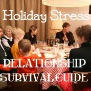 """""""Holiday Stress: Relationship Survival Guide!"""" How to strengthen relationships this holiday season!  via www.drchristinahibbert.com"""