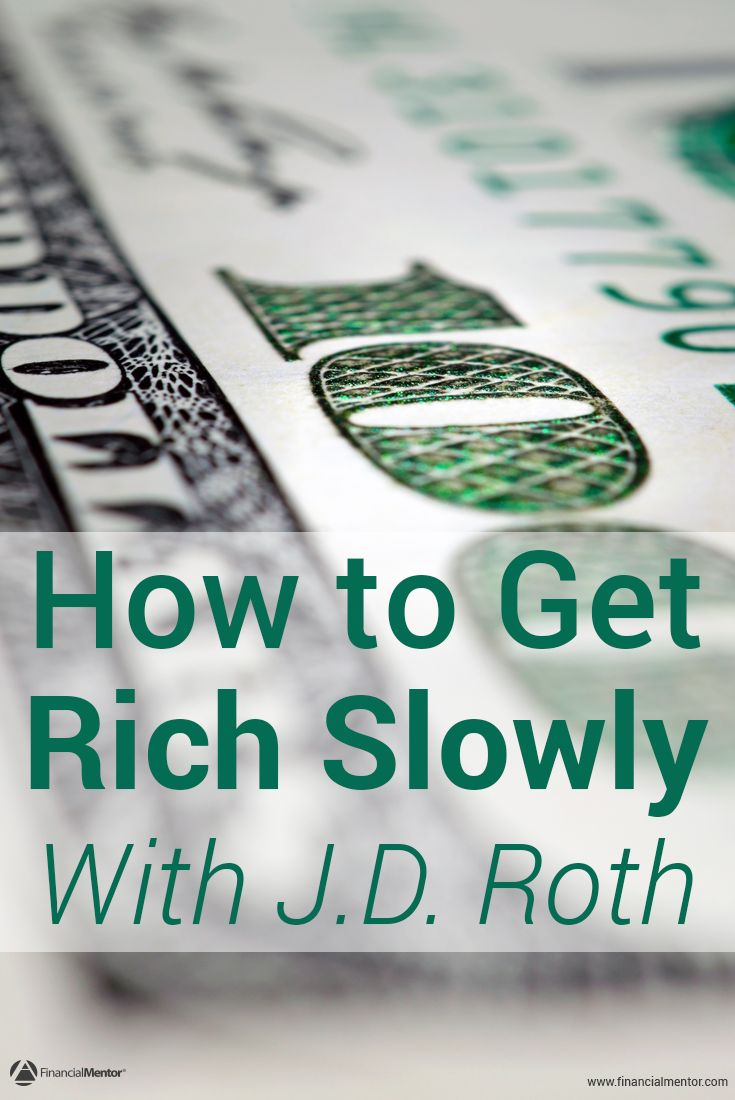 Want to develop a rock solid financial foundation to build wealth on top of? J.D. Roth, founder of Get Rich Slowly and Money Boss, discusses what it was like to work his way out of debt, the habits he developed to build wealth, and how he reached financial freedom.