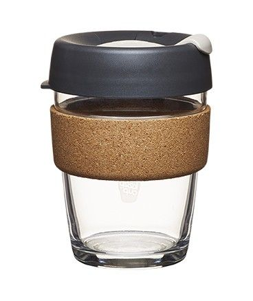 Medium size keep cup for on-the-go coffees. Good reusable style design to take to coffee shops!