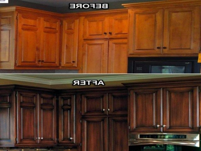 25 best ideas about refinish kitchen cabinets on for Kitchen cabinet refurbishing ideas