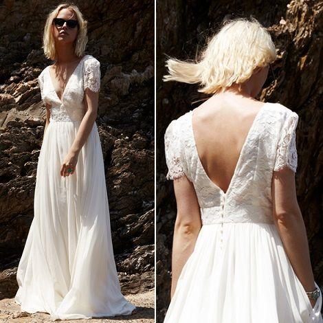 Robe de mariée Eglantine - Collection mariage 2016 Elise Hameau