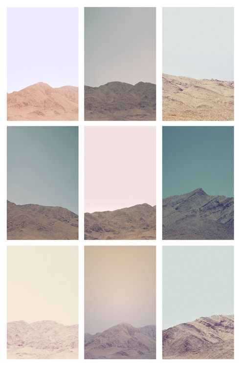 Untitled (Death Valley Hills Mountains - Grid) - Jordan...