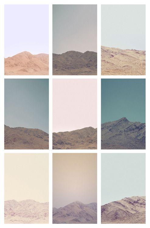 Untitled (Death Valley Hills & Mountains - Grid) - Jordan Sullivan