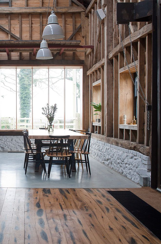 Kentish barn converted into unusual new home for creative couple