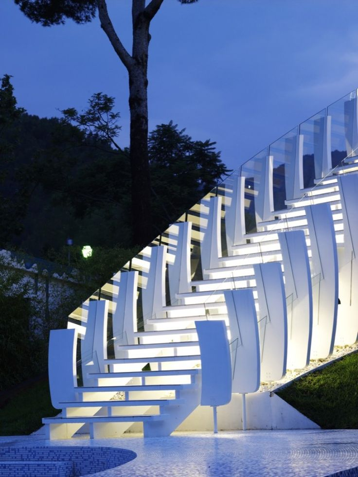 Modern exterior stairs images for Exterior staircases design