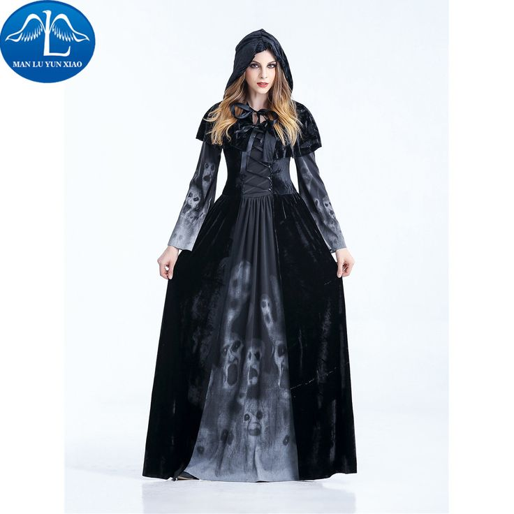 MANLUYUNXIAO Halloween Witch Costume For Girls Role Play Cosplay Performance Dance Show Halloween Costumes Wholesale #Halloween Witch Costumes            Welcome To Our Store.    We are a manufacture committed to making cosplay costumes, we can provide you a variety of cosplay costume, such as anime costumes, movie role-playing clothes, lolita dress, maid outfit, students dress,l working uniforms, overalls est; each costume is...