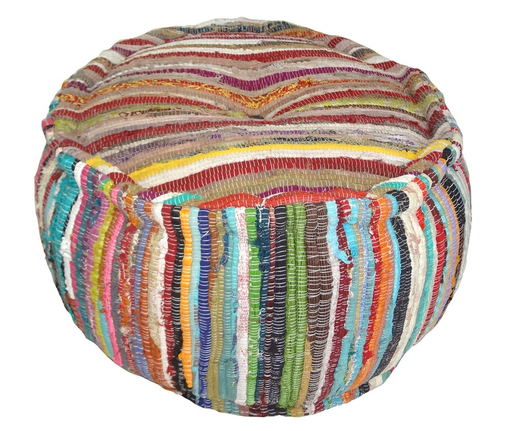 Boho Pouf Perfect for putting your feet up with a glass