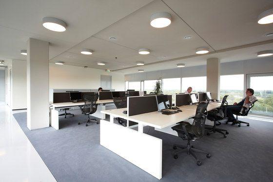 Desking systems   Desk systems   CHTH   Lensvelt   Richard Meier. Check it out on Architonic