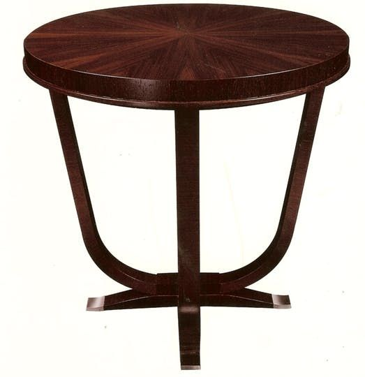 Lucien Rollin St Honore End Table From M Geough  Transitional, Traditional, Metal, Side  End Table by Boston Design Center Bdc