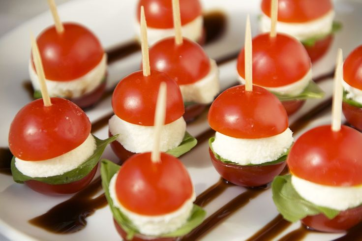 The cutest little mini appetizers you ever did see! Caprese Sliders are not only stunning, but they're healthy, tasty, and perfect for parties as well!