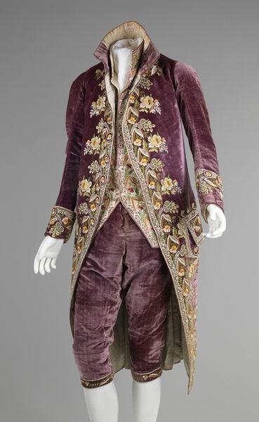 Court suit, 1810