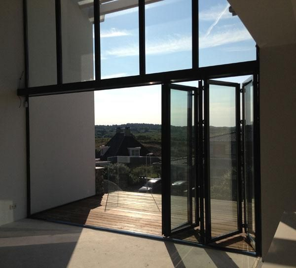 Product NBD - Sunflex glazen vouwwanden | vouwdeuren