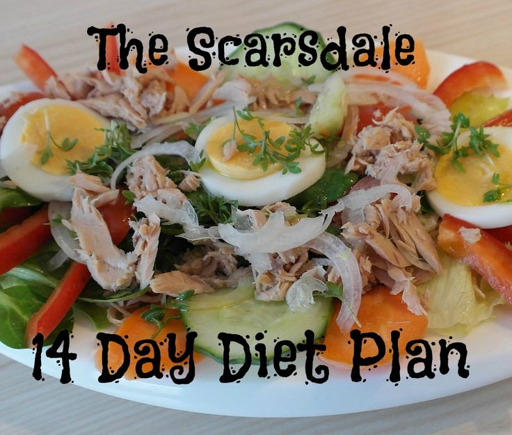 The Scarsdale 14 Day Diet menu plan was hugely popular in the seventies and eighties and was probably the original low carb diet.