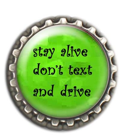 No texting while driving.
