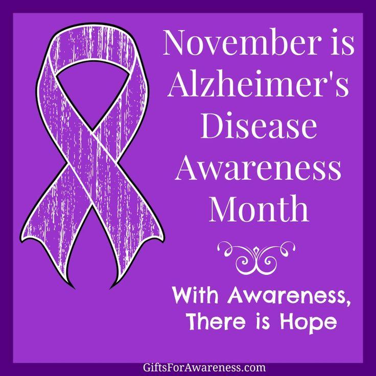 November is Alzheimer39s Disease Awareness Month Spread
