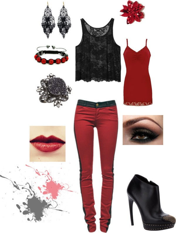 """Punk Rock Chic"" by stacey-molinaro on Polyvore"