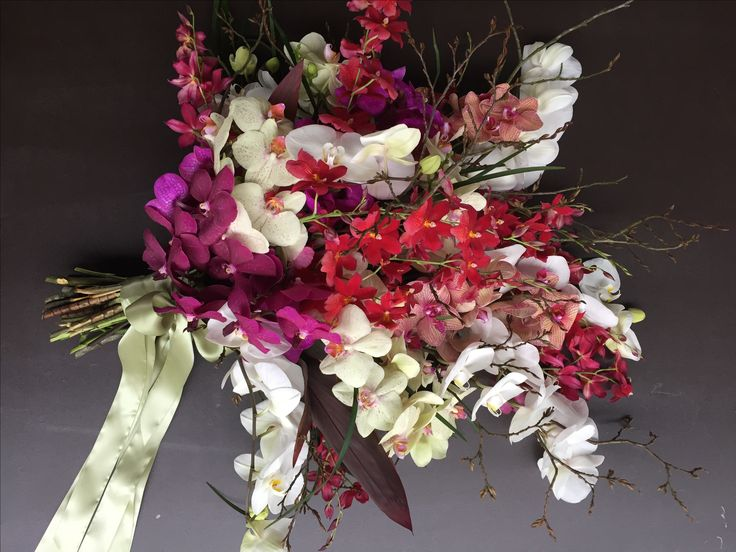 Flowers & Funeral  Phaelenopsis orchids