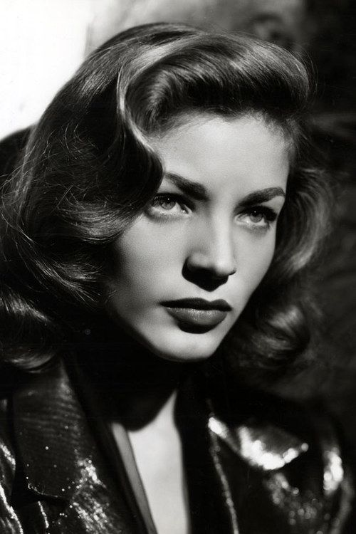 Lauren Bacall, divine. My only consolation is that I can mimic her sexy voice…